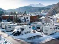 Kempování - lyžování - Rakousko
