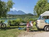 キャンプ場ケルンテン-オーストリア