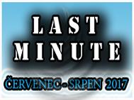 Last Minutes, kempy léto - 2017