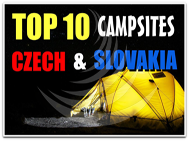 TOP 10 Camping Czech nad Slovakia