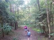 Vagando attraverso i boschi a Camps-chaty.cz