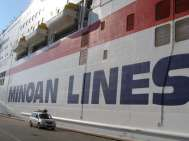 Ferry vers la Grèce