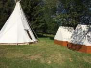Camping et pentes au U Mauritz