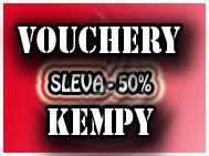 Slevy do kempů - 50% sleva