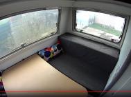 Karavan - úprava interiéru