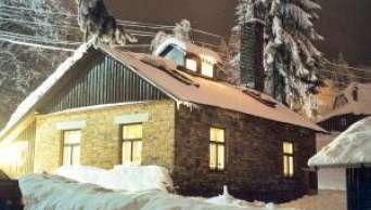 chata na zimu