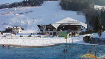 Thermal Spa Bad Kleinkirchheim tuż pod stokami