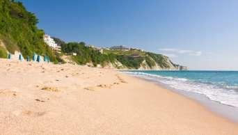 Nádherné pláže v Bulharsku