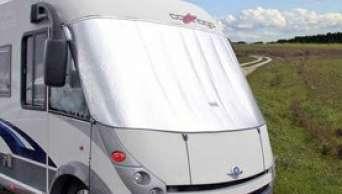 Caravan in de winter