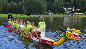 Kamp Dolce - Dragon Boats