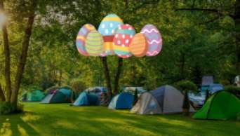 Camping Ostern