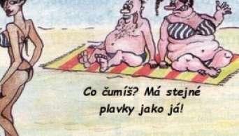 Vtipy dovolená