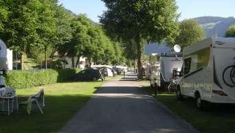 Snidane i Prutz Camping