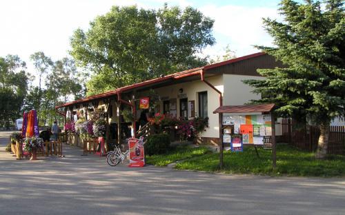 Kemp Horní plana - cykloturistika