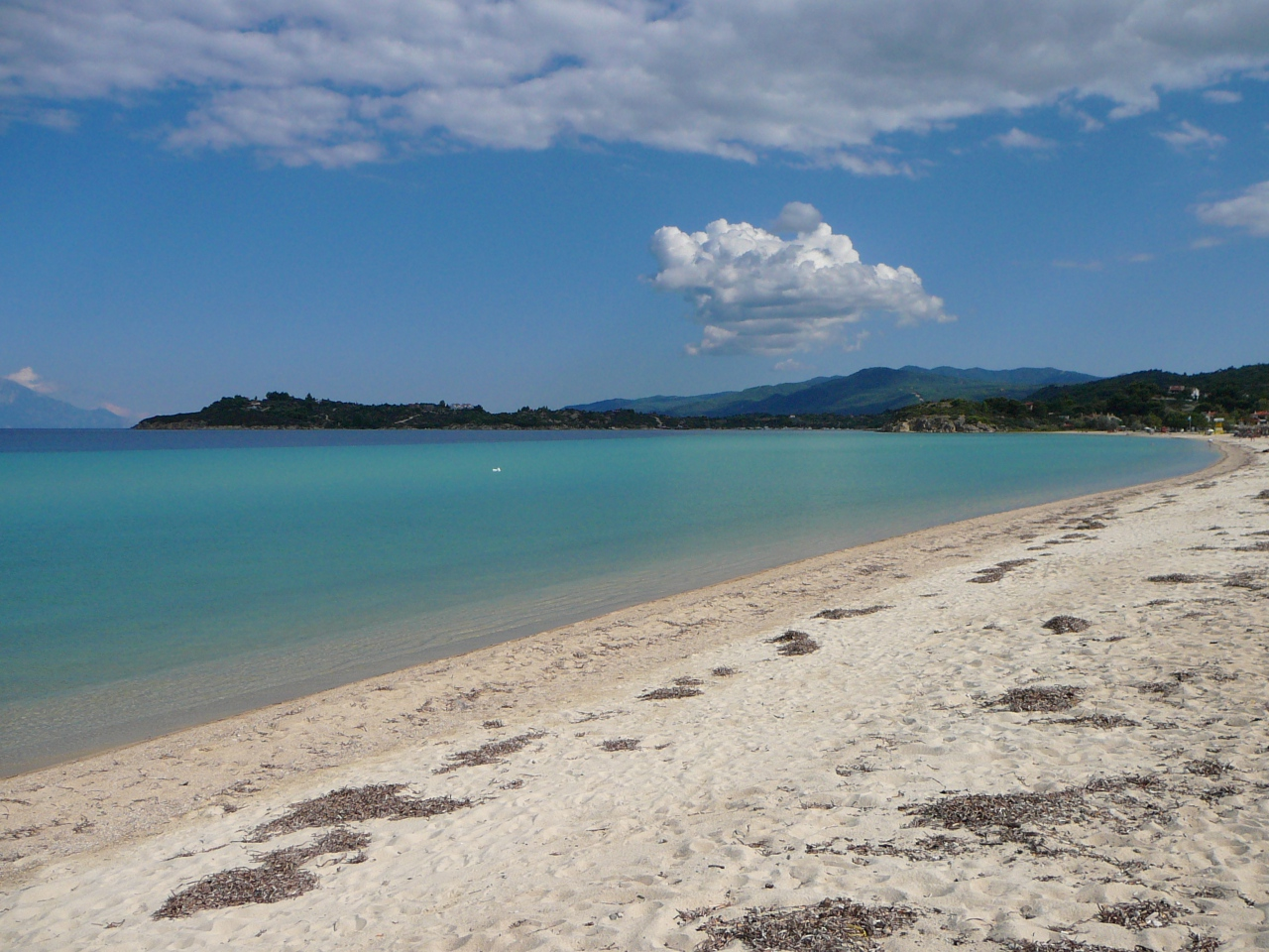 Chalkidiki pláž