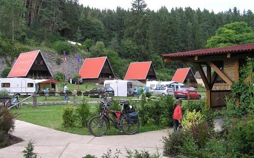 Camp Karolina s půjčovnou kol