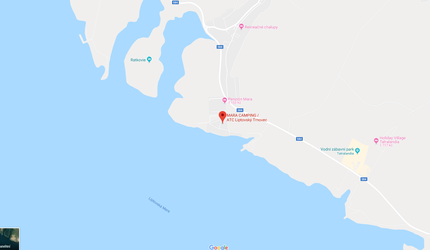 Camping Karta Europa.Kuponų Konkursas Stovyklavietėje Netoli Liptovska Mara Uztvankos
